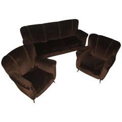 Living Room Sets ISA Bergamo Italian Mid-Century Design