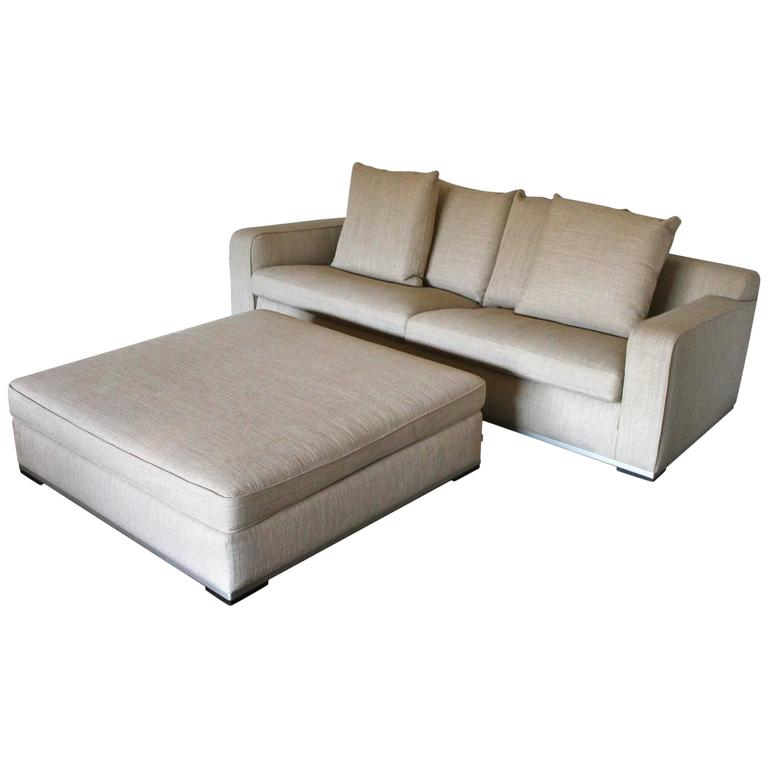B b italia maxalto imprimatur apta sofa and ottoman in for B b italia maxalto sofa