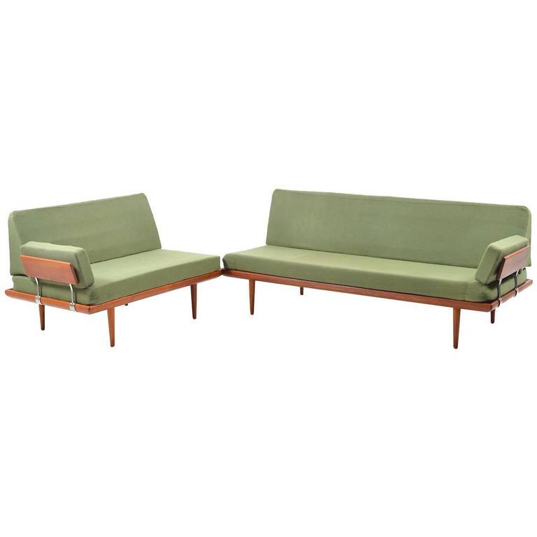 Sofa/Daybed-Set 'Minerva' by Peter Hvidt & Orla Mølgaard Nielsen