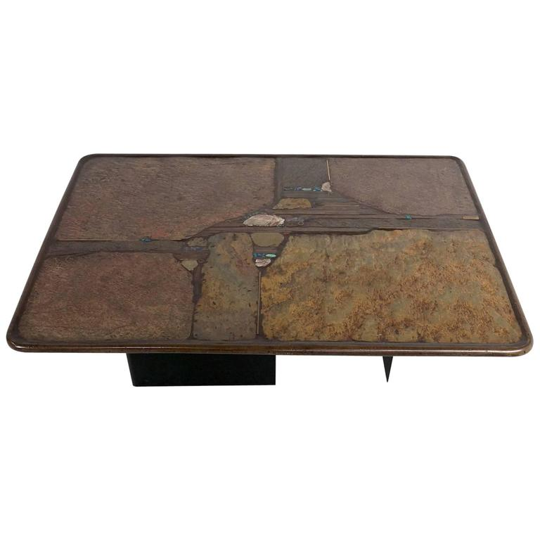 Paul Kingma Slate Coffee Table