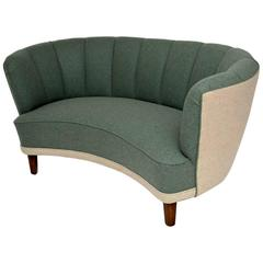 Retro Swedish Banana Cocktail Sofa Vintage, 1950s