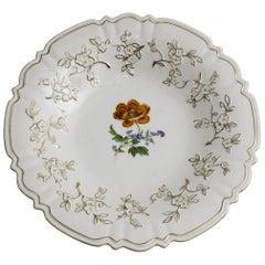 Florale Meissen Plate