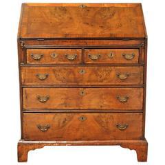 18th Century Walnut Slant-Front Desk