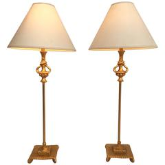 Pair of Lamps by Dewaël for Fondica, France, 2002