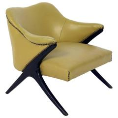 Curvaceous Modern Chair by Karpen of California