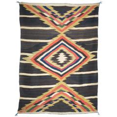 Navajo Moki Style Blanket, circa 1875