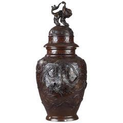 Bronze Vase, Japan, Meiji Periode