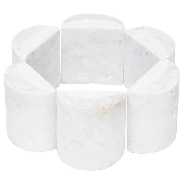 Hanna Eshel Carrara Marble Sculpture For Sale