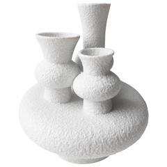 Futuristic German Sgrafo Modern Vase, 1960s