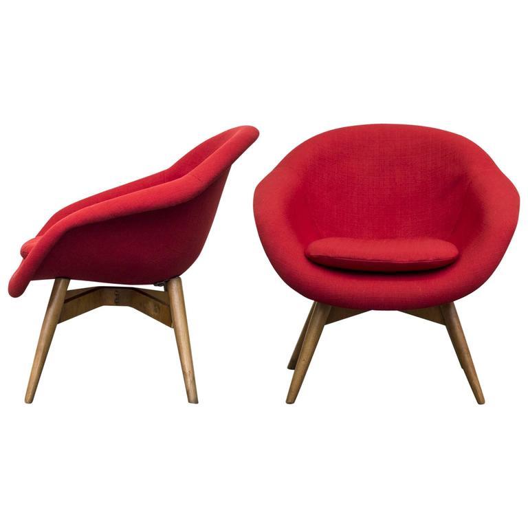 Bucket Lounge Chair by Miroslav Navrátil for Vertex