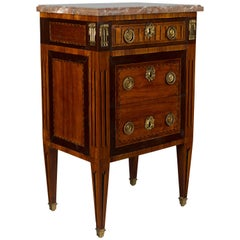 French Louis XVI Petite Commode