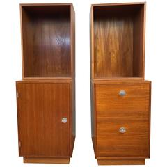 storage unit office mobile finn juhl cresco teak storage unit for france son two available modular wall office shelving and