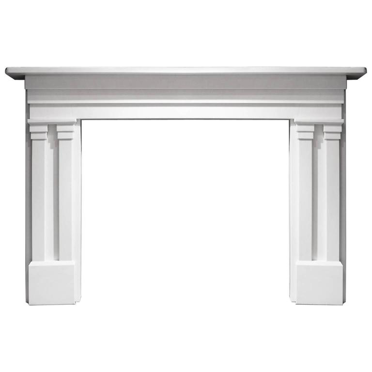 English marble fireplace mantel for sale at 1stdibs for Marble mantels for sale