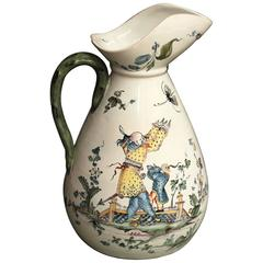 Arnhem 'Netherlands', 18th Century, Faience Cider Jug