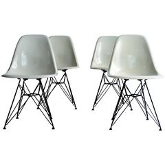 DSR Chairs by Charles Eames, 1960, Set of Four