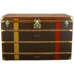 Louis Vuitton Brass Bound Courier Trunk