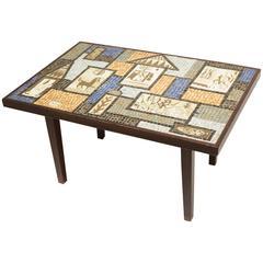 David Holleman Ceramic Mosaic Table