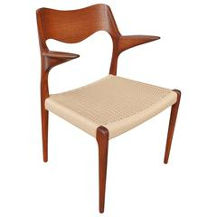 NO Moller Teak Armchair Model 55
