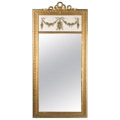 19th Century Louis XVI Style Trumeau Mirror