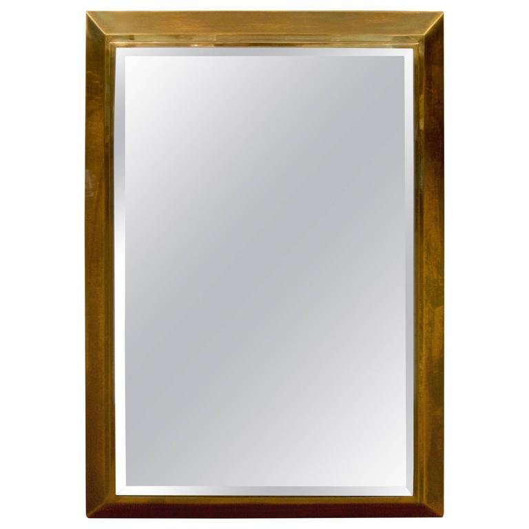 Brass Framed La Barge Mirror