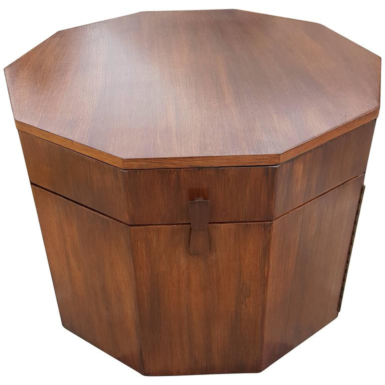 Harvey Probber Dry Bar or End Table in Rosewood 1
