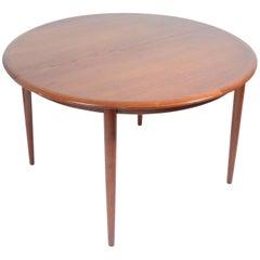 Danish Modern Teak Dining Table by Kurt Ostervig