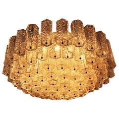 Venini Ceiling Lamp Italian Mid-Century Design