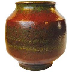 Stoneware Vase by Danish Ceramist Marianne Starck for Michael Andersen & Son