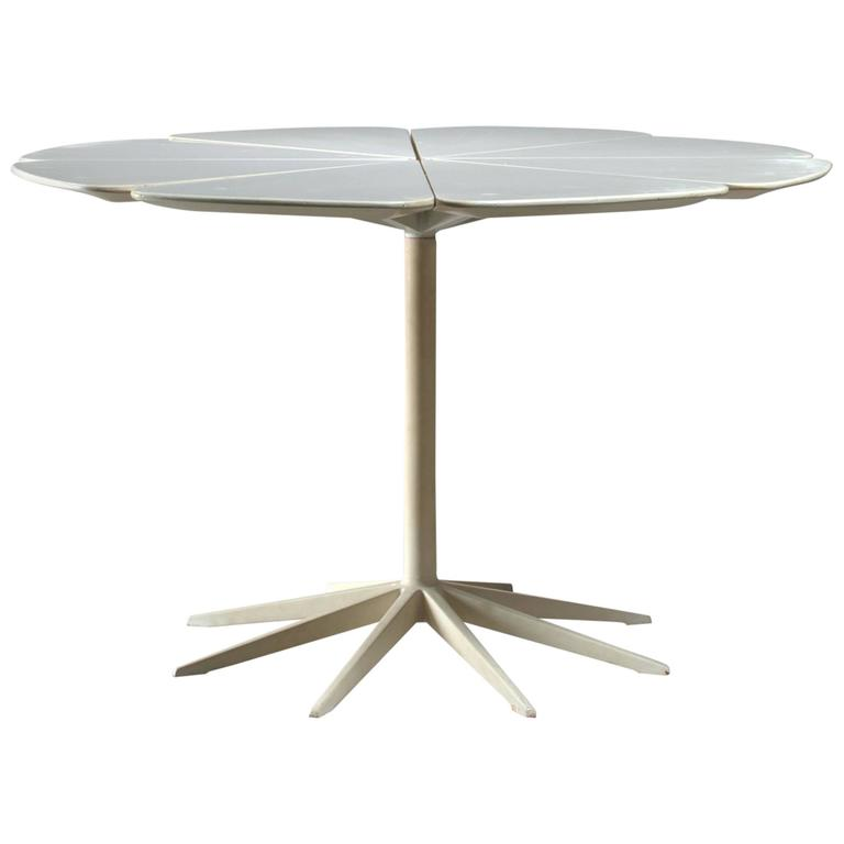 Richard Schultz Petal Coffee Table in White for Knoll, USA, 1960s
