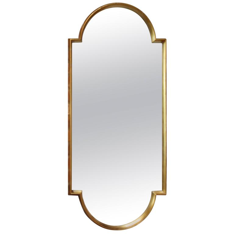 Sculptural Labarge Giltwood Mirror For Sale