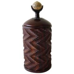 Jon Sauer Exotic Woods Betel Nut Lidded Box
