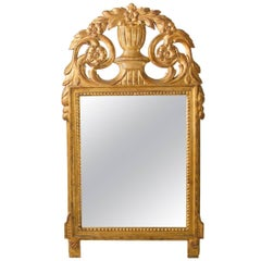 Late 19th Century Swedish Giltwood Mirror