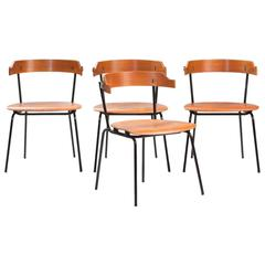 Set of Four Italian Dining Chairs