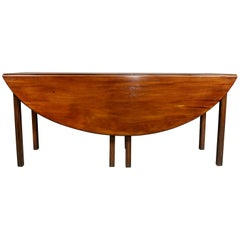 Irish George III Mahogany Hunt Table