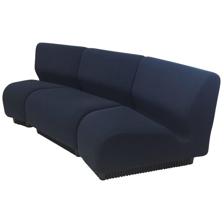 Don Chadwick Three Piece Modular Sofa For Herman Miller At Sc 1 St House  Interior Design