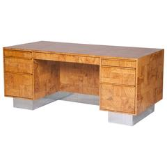 Signed Desk Designed by Paul Evans in the Cityscape Style