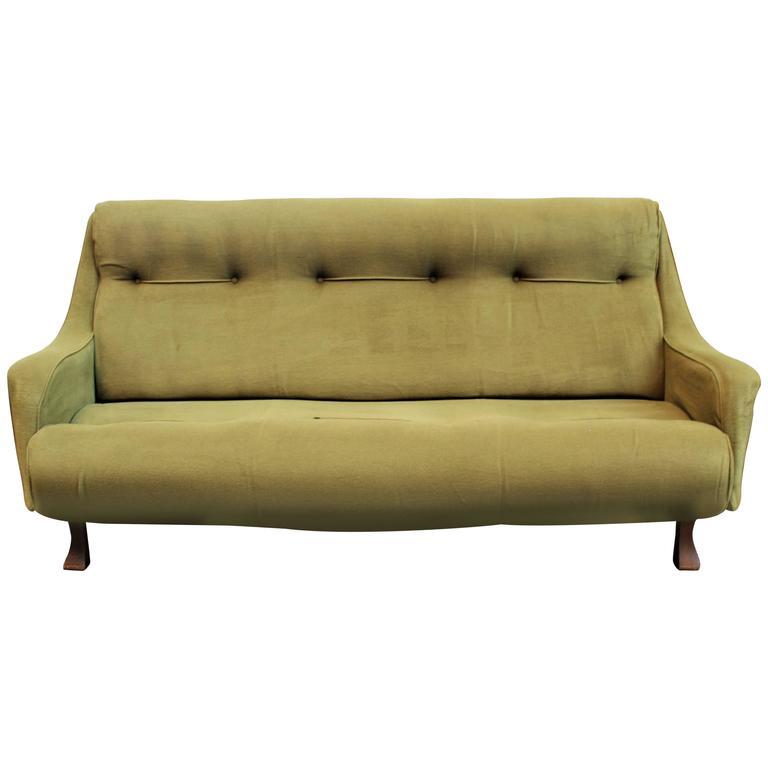 Art Deco Italian Sofa For Sale