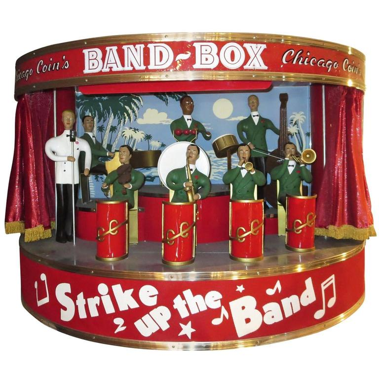 """Chicago Coin's Mechanical """"Band Box"""" Automated Orchestra 1"""