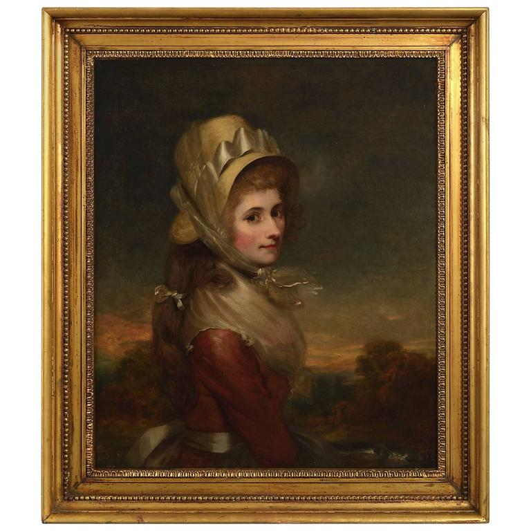 Attributed to Sir Martin Archer Shee, Portrait of Miss Kelly oil on canvas