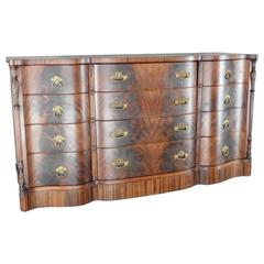 19th Century Flame Mahogany Dresser