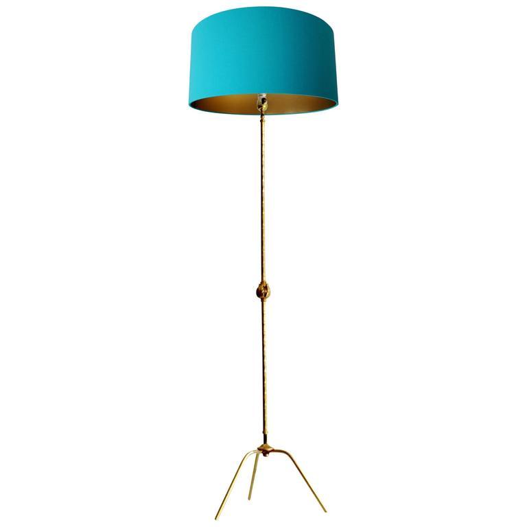 French Bagues Mid-Century  Floor Lamp, 50s Design, Gio Ponti Era
