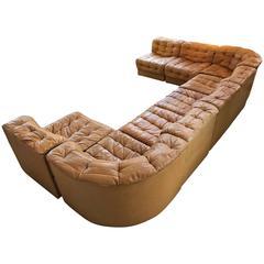 De Sede Eight Sections Sofa, DS11 Model