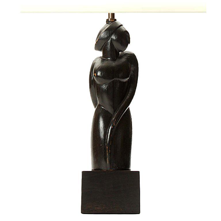 Female Figure Table Lamp