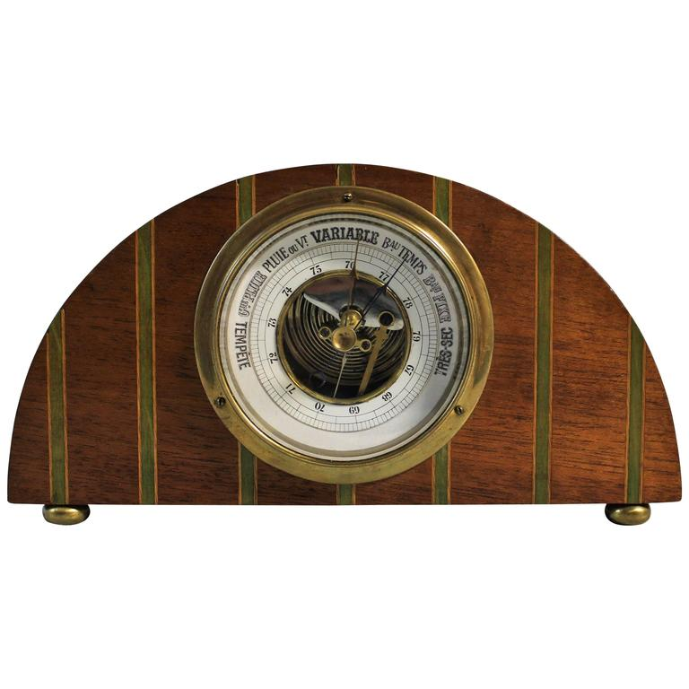 Art Deco French Barometer