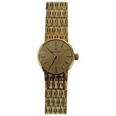 18-Carat Gold Ladies Hamilton Watch