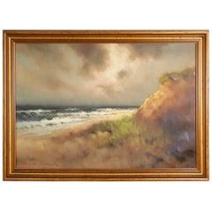 Dunes Oil on Canvass by Arnold Schatz