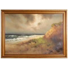 Dunes Oil on Canvass by Arnold Schatz