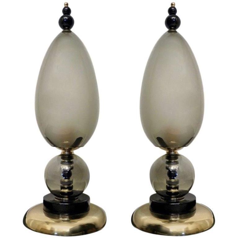 Two Fantastic Murano Table Lamps 1