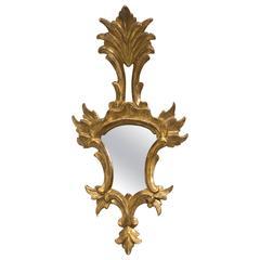 Giltwood Italian Small Mirror