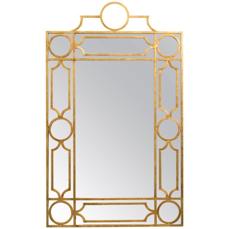 Gilt Metal Mirror